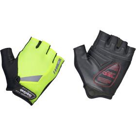 GripGrab ProGel Hi-Vis Padded Short Finger Gloves fluo yellow